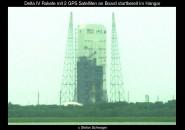 Delta IV Rakete vor dem Start