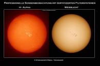 Sonne im h-alphalicht