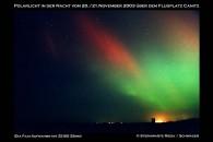 Polarlicht 2003 in Canitz