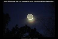 Mondsichel und Aschgraues Licht