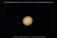Der Jupiter mit Mondschatten