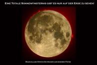 Vergleich Sonne und Mondgröße am Himmel