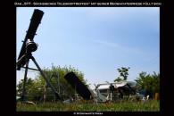 Viele verschiedene Teleskope stehen zur Beobachtung bereit