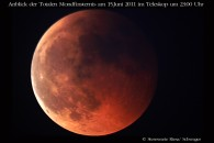 Toale Mondfinsternis 2011