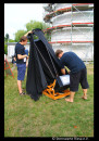 Aufbau der Teleskope.