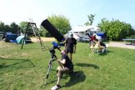 Am Samstag wurde der Tag zu ausführlichen Sonnenbeobachtung genutzt