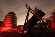 nächtliche Beobachtung an den Riesendobson und anderen Teleskopen auf dem STT