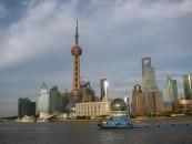 Die Stadt Shanghai