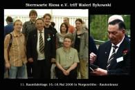 Waleri Bykowski und die Sternenfreunde aus Riesa