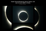 Die Totale Sonnenfinsternis 2009 aus Wuhzen