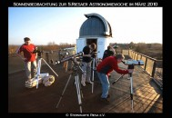 5th Astronomical Week at the observatory Riesa