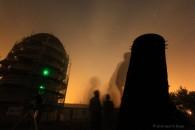 Beobachtung am Riesendobsen trotz leichtem Nebel
