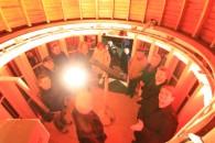 Erste Führungen in der neuen alten Kuppel der Sternwarte Riesa.