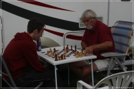 Auch Schachfreunde kamen auf ihre Kosten und nahmen sich die Zeit zum Denken.