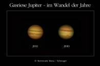 Wolkenbänder auf dem Jupiter