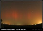Aurora Borealis – Blick in Richtung Norden