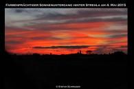 Sonnenuntergang Strehla