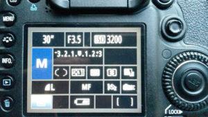 Manueller Modus bei der Canon Eos 7D