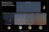 Venus und Jupiter am Abendhimmel