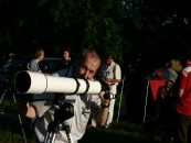 2. Sächsisches Sommernachtsteleskoptreffen im Lindenhof Peritz