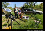 Beobachtung des Merkurtansites in der Sternwarte Riesa bei sehr gutem Wetter.