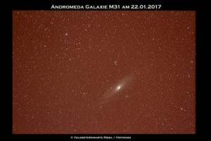 Andromeda Galaxie 2017