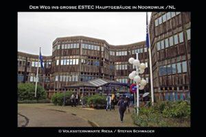 Besuch des ESTEC in den Niederlanden