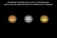 Jupiter in verschiedenen Gestalten