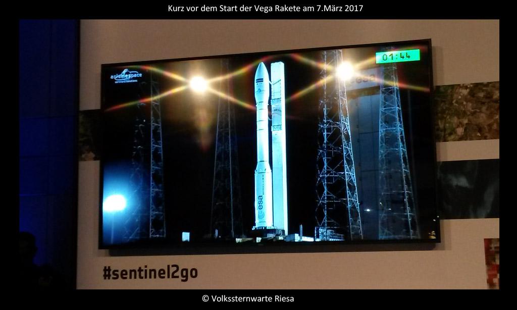 Die Sentinel Satelliten und der Start von Sentinel 2B am 7. März 2017