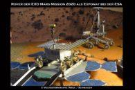 Exomars 2020 Rover ESTEC