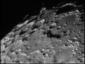 Mondkrater im Sternwartenteleskop Schwager