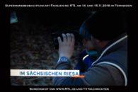 RTL Beitrag Familien bei Beobachtung Supervollmond