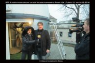 RTL Dreh vor Sternwarte