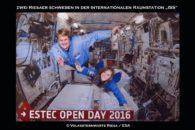 Riesaer in der Schwerelosigkeit der ISS