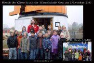 Schulklasse alte Sternwarte 2010