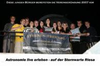 Verein kurz vor der Gründung - aktive Jugend 2007