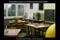 Vorbereitungen Vereinsgründung 2007