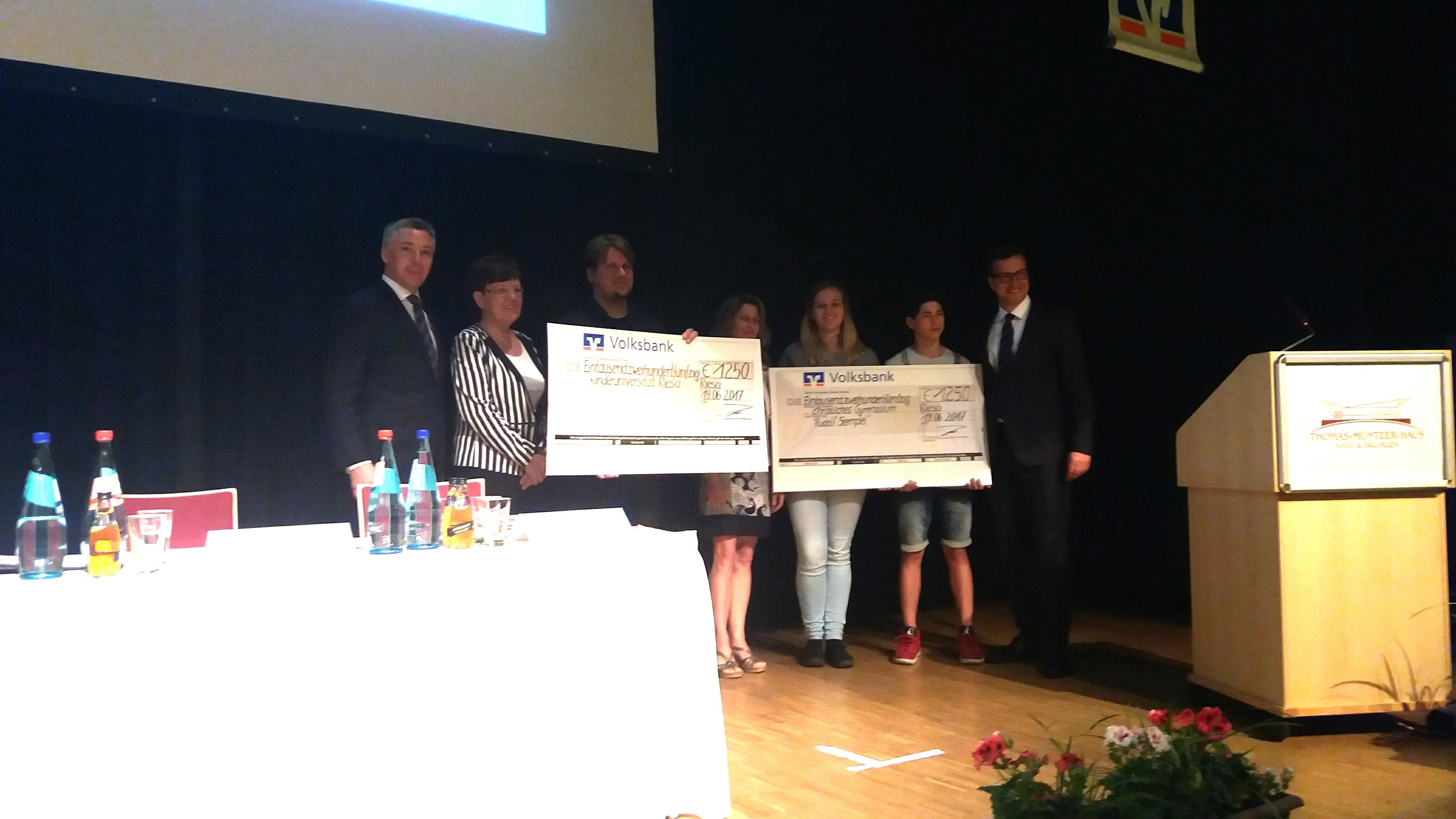 Easy credit Preis für die Volkssternwarte Riesa