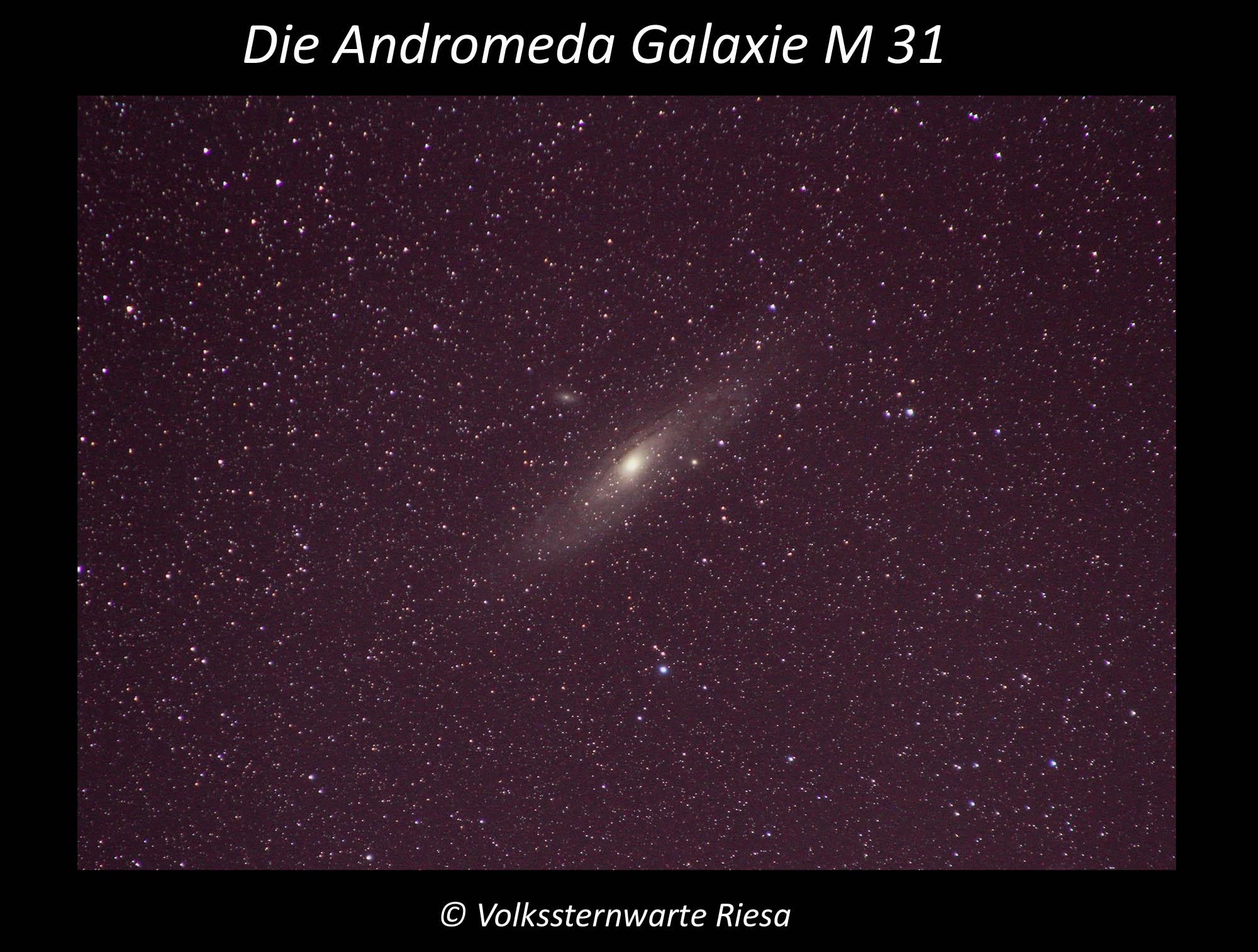 Die Andromeda Galxie