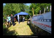 Volkssternwarte Riesa auf dem Hof – und Handwerkermarkt in Gostewitz