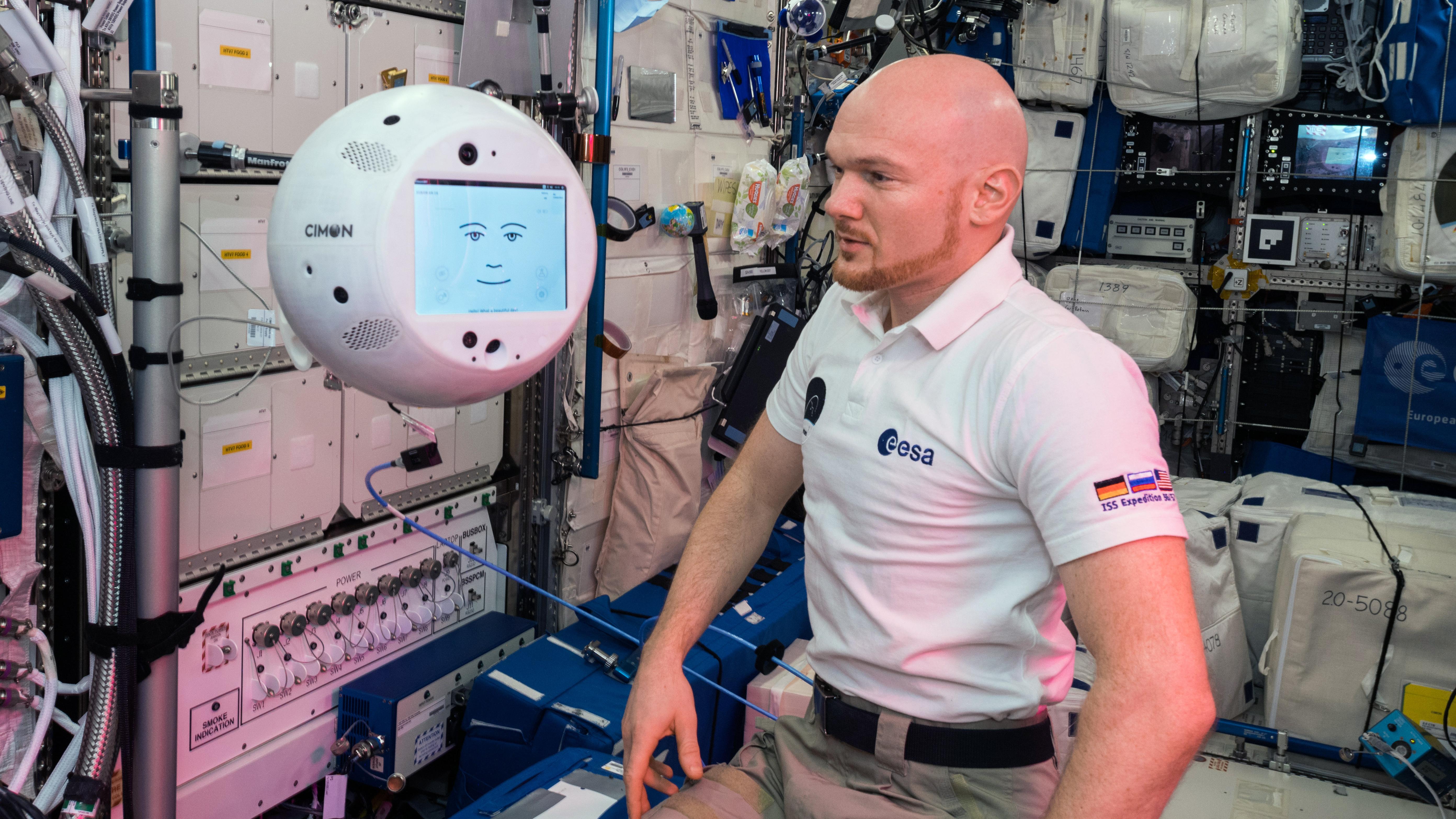 Der erste intelligente Roboter auf der ISS
