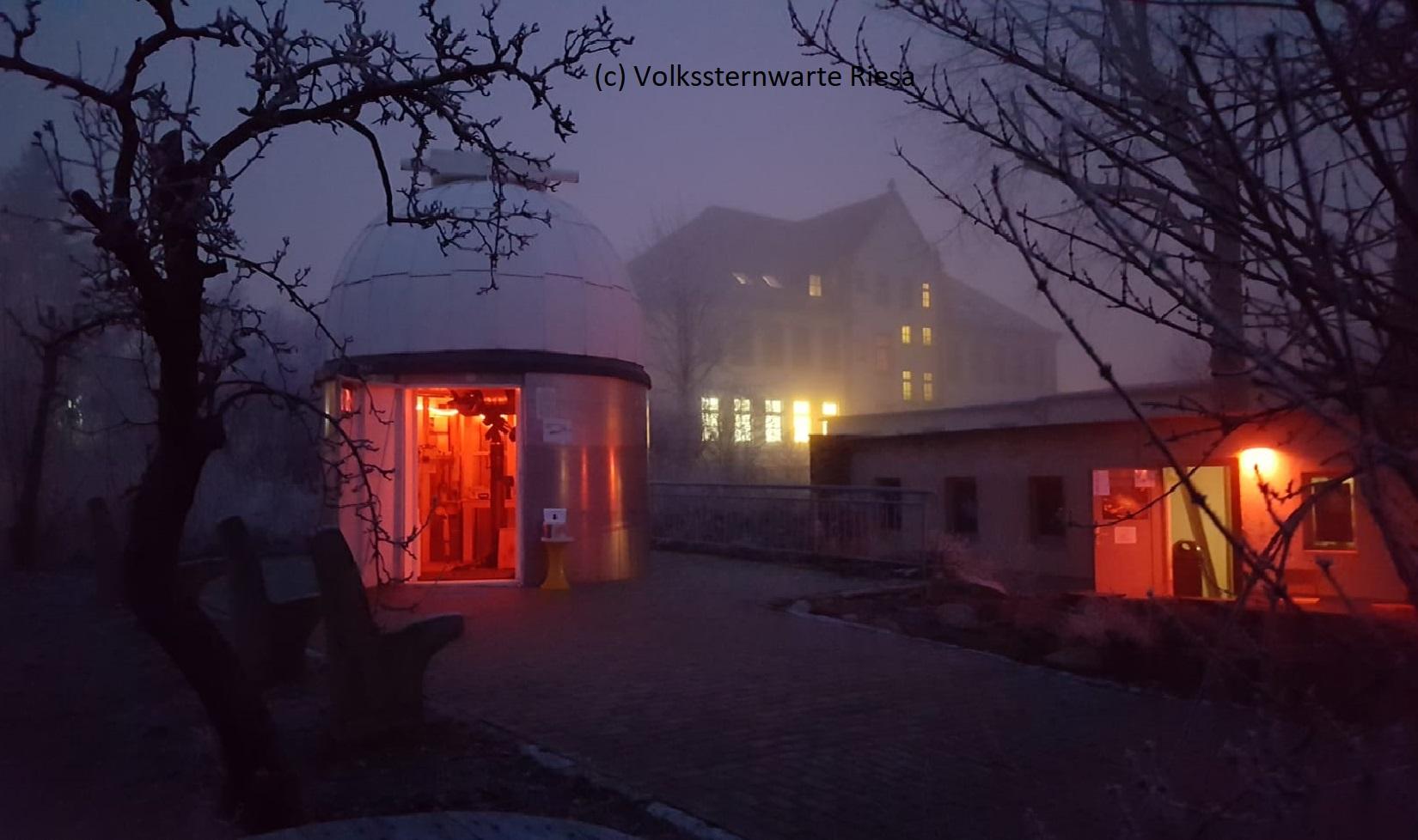 Dichter Nebel statt einer totalen Mondfinsternis