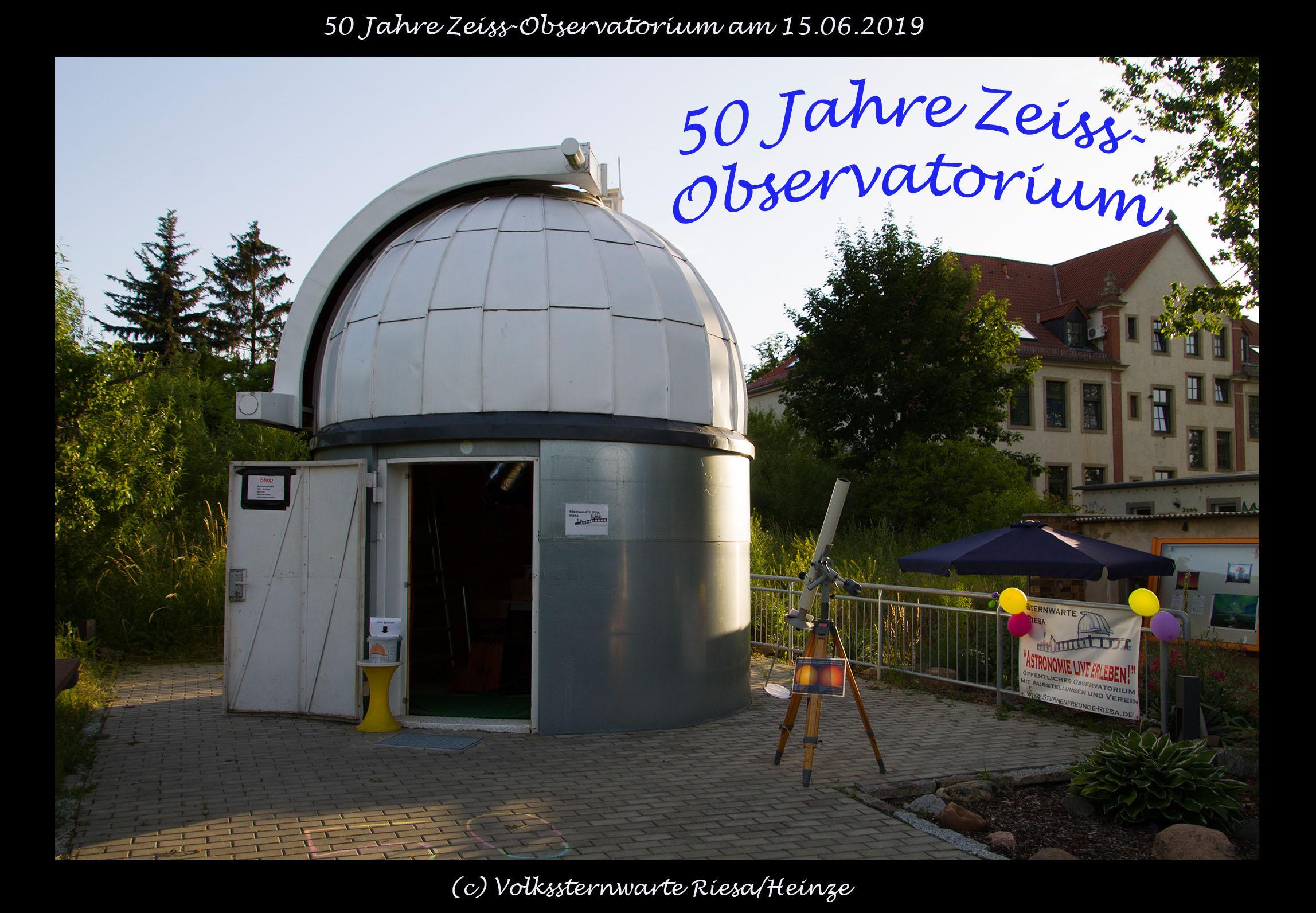 50 Jahre Zeiss Observatorium
