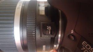 Manueller Fokus Kamera