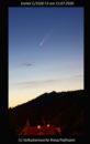 Komet C/2020 F3 in der Abenddämmerung